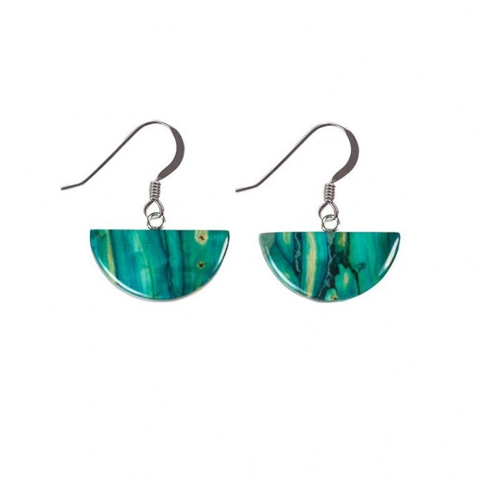 Heathergems Half Circle Drop Earrings SE21
